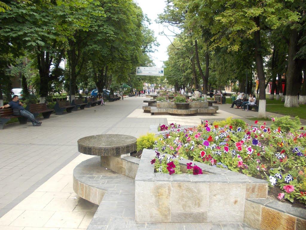 parc pietonal