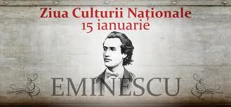 ziua culturii nationale eminescu